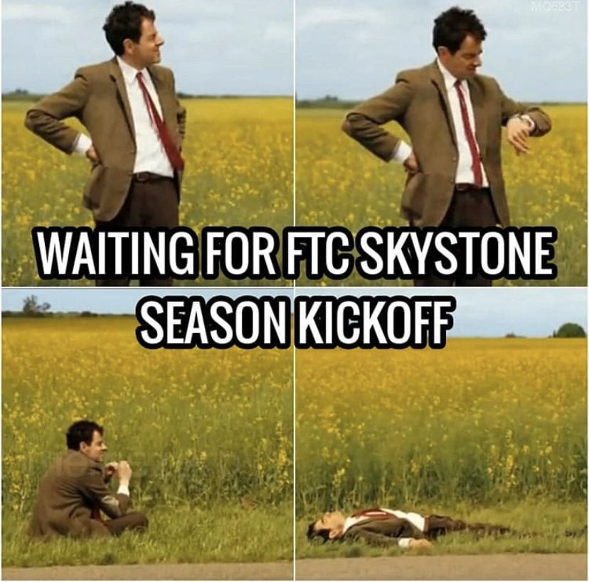 Image result for waiting for ftc kickoff memes