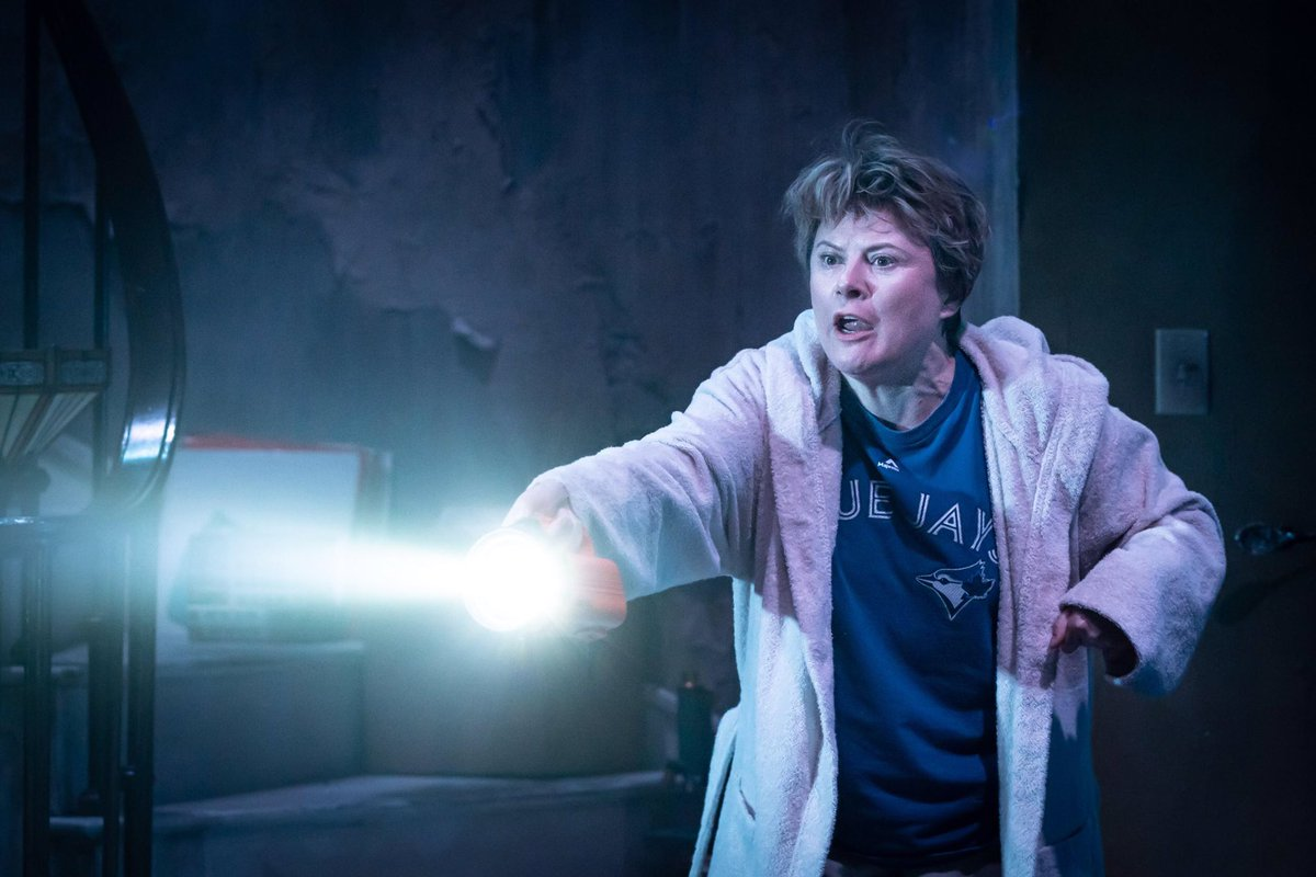 From winning a BAFTA playing Rosemary West to winning an Olivier in All About Eve via Tracey Pritchard in W1A, is there nothing Monica Dolan cannot play? Nope. She's flat-out sensational leading a terrific cast in the deliciously dangerous #Appropriate @DonmarWarehouse.<br>http://pic.twitter.com/VrxS9cEcKj
