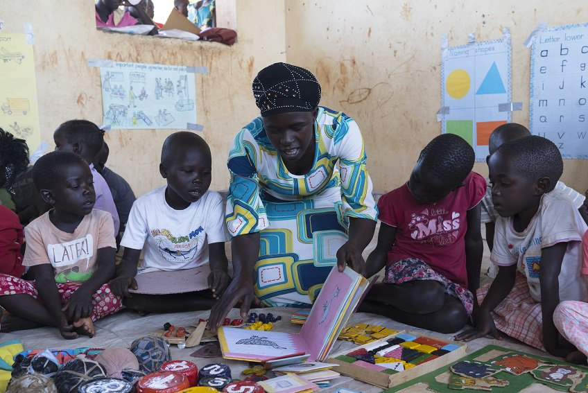 """""""We secure a better world by investing in the 75M children/youth left furthest behind in conflicts & displacement by closing the funding gap of $1.8 billion by 2021 to reach 9M of these children."""" ~ @YasmineSherif1 @ineetweets @ungei pic:@unicef @theirworld @unhcr_education"""