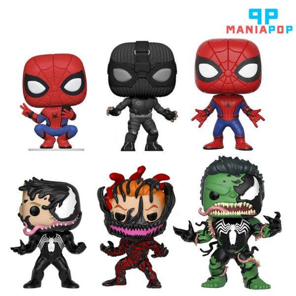 Diversas versões de Funko Pops do Homem-Aranha, Carnage e Venom em estoque para você que curte tudo relacionado a estes personagens da #Marvel.  Acesse e compre em nosso site!!!  http://www.maniapop.com.br  #spiderman #homemaranha #filme #desenho #hq #geek #nerd #funko #maniapop pic.twitter.com/SblLlfsHSZ