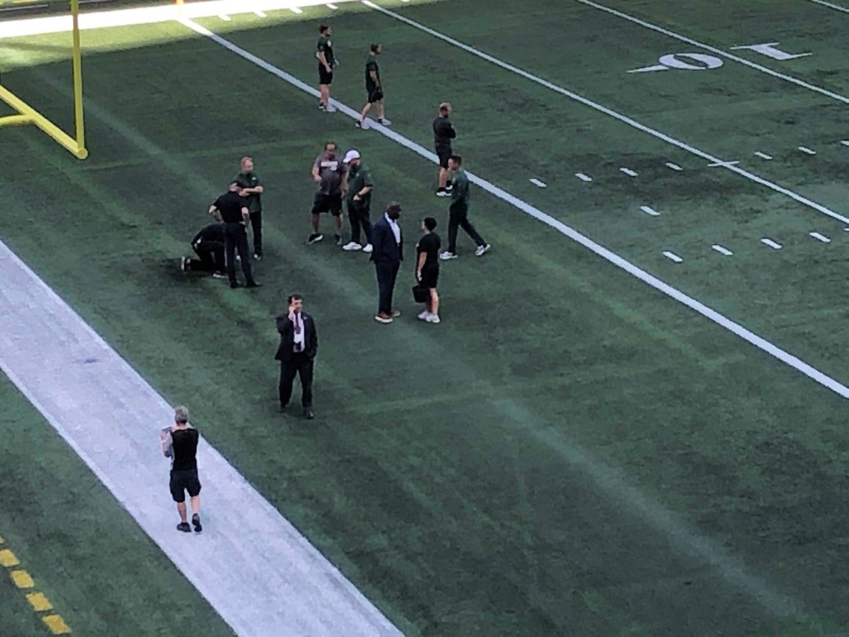 Photo: There's An Issue With The Packers-Raiders Field In Canada