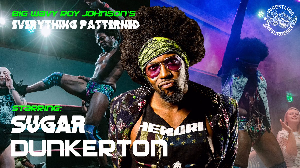 If you haven't seen @RoyJohnsonYeah's Road Diary video, GO CHECK IT OUT!   But, here's a cheeky spoiler anyways...  @SugarDunkerton returns to Resurgence!!! Saturday 12 October, #EverythingPatterned, #BlackHistoryMonth , #Leicester   Tickets on sale now:  http:// bit.ly/BigWavyEP    <br>http://pic.twitter.com/b0GzVnBQqM