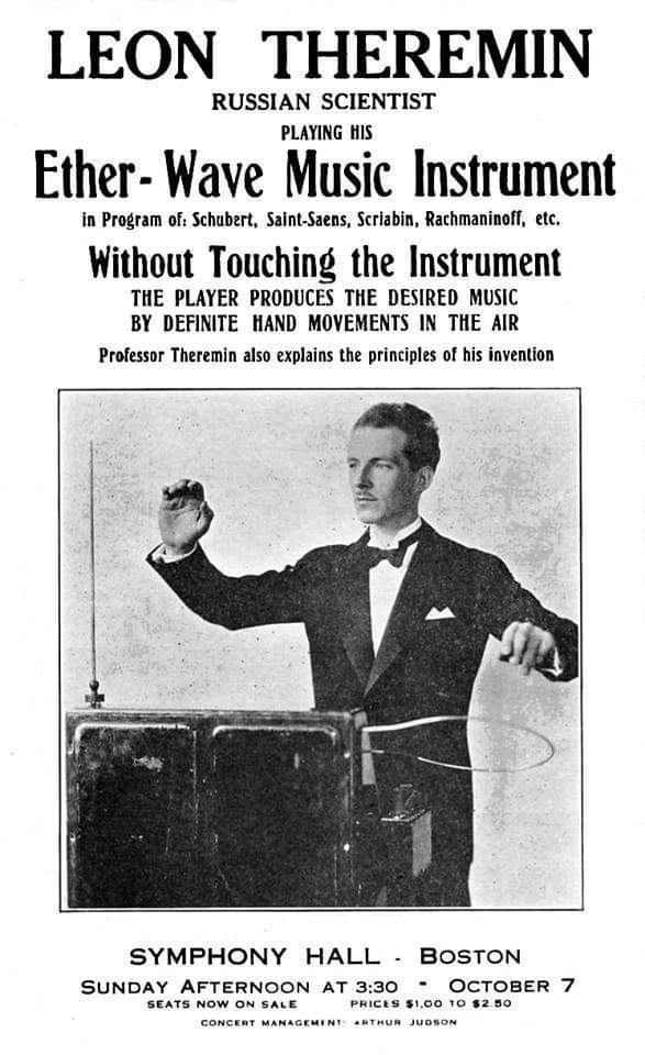 Hashtag #theremin sur Twitter