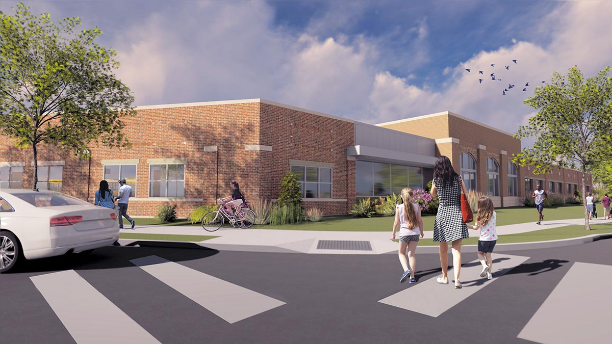 Groundbreaking set for new, expanded Robinson Community Learning Center go.nd.edu/3f8ac8