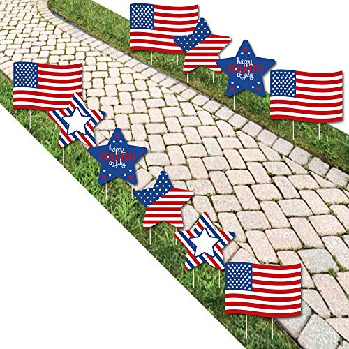 4th of July Outdoor Fourth Of ...: List Price: $44.99 Deal Price: $33.99 You Save: $6.00 (15%) 4th of July Outdoor Fourth Of July Party Yard Decor 10 pc Expires Jul 1, 2018 https://t.co/STgeyG5Vl5 https://t.co/AgKAbmBA6n