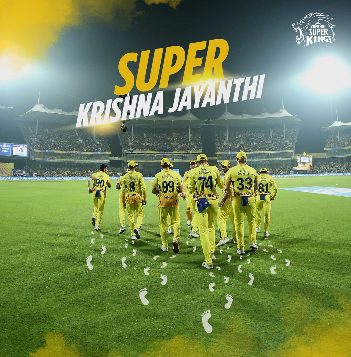 May this #KrishnaJayanthi bring only the bestest into your super homes. Goin' den, go in den! #WhistlePodu<br>http://pic.twitter.com/9Cer8MxgGY