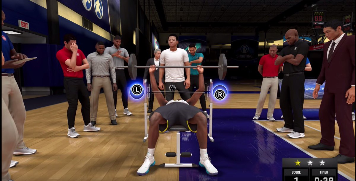 RT @supverde: why does 2k have fatboy sse and tim duncan watching you bench press https://t.co/emwcEwDOEJ