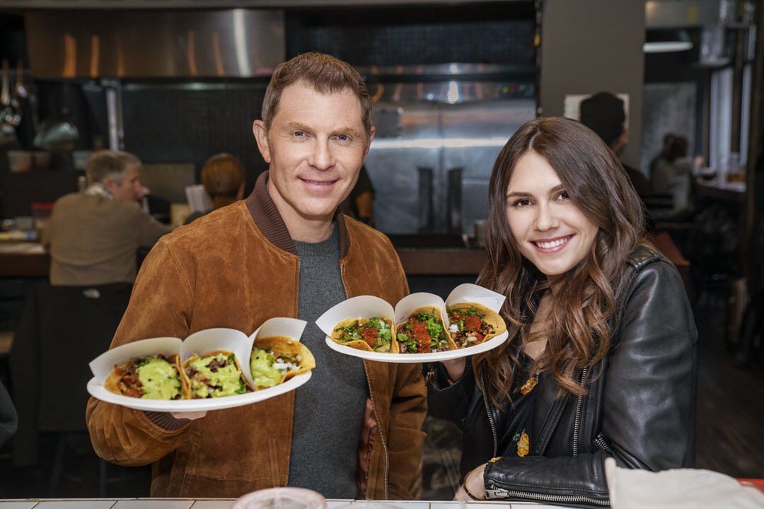 #TheFlayList can't wait for episode 2! This week we did tacos... What classic dish do you think we'll focus on next time? @FoodNetwork @abc7sophie<br>http://pic.twitter.com/J4sqMl6zxJ