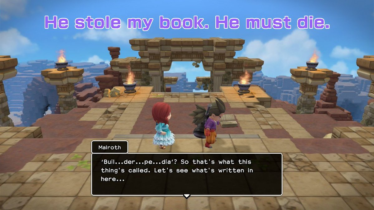 #DQB2  #NintendoSwitch #BookwormProblems #Malroth #Builder https://t.co/Ar0TEqPfgR