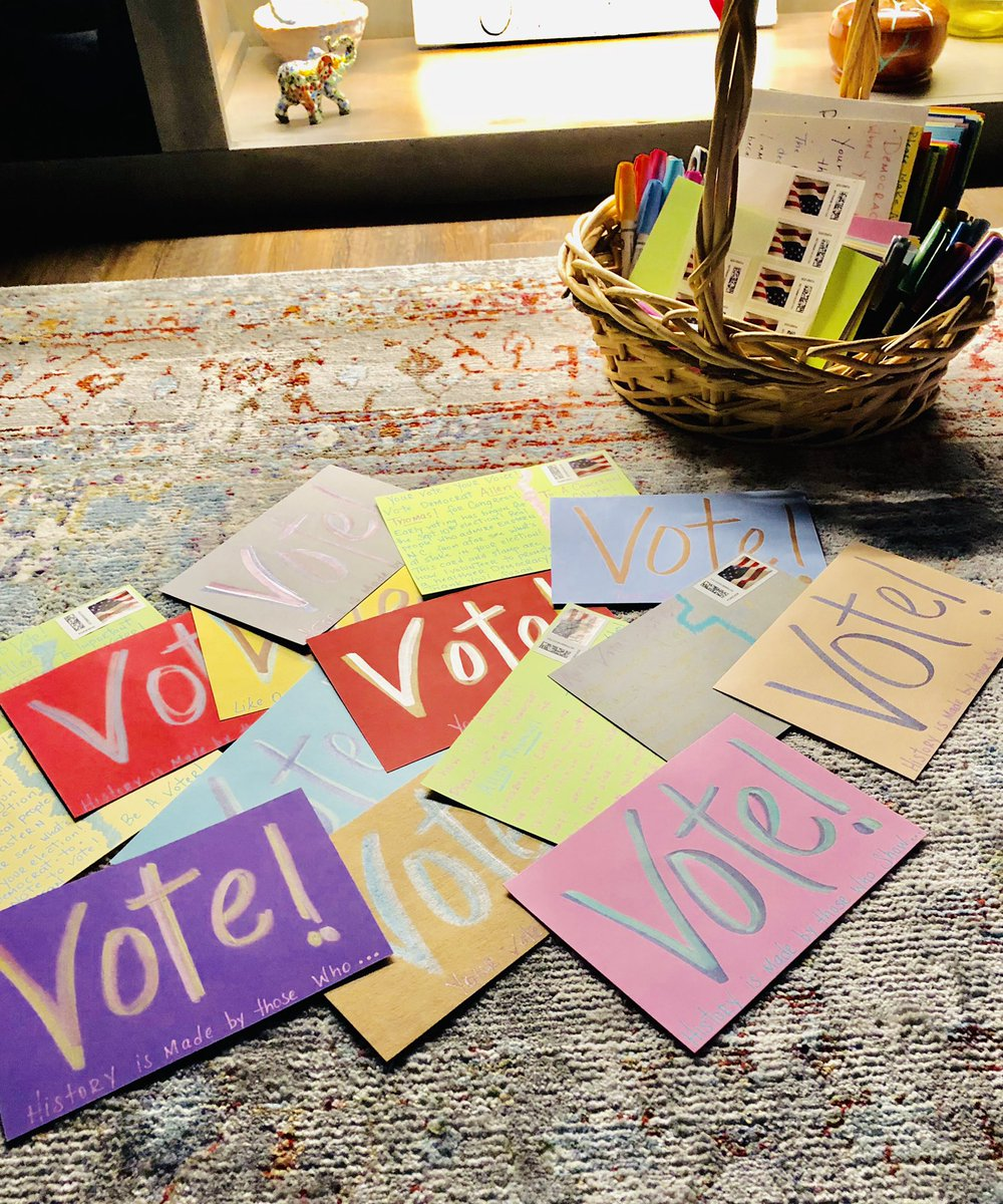 And..... here we go again!!! @AllenThomas4ENC  15 More cards going out tomorrow!!! #PostcardsToVoters  #BlueWave <br>http://pic.twitter.com/UbtyKqkYnE