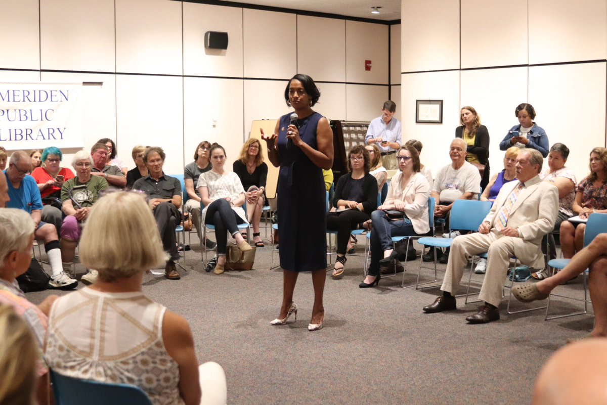 Thank you to everyone who participated in our community conversation on immigration in #Meriden. Immigration is an emotionally charged issue and I am fortunate to have had the opportunity to hear from you. I heard you and I see you-All of you! THANK YOU