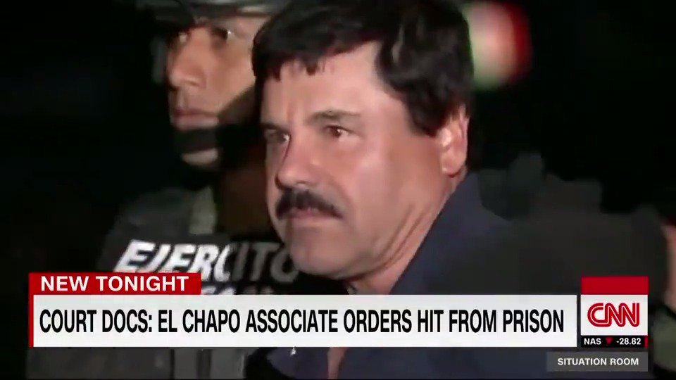 El Chapos network may still be targeting witnesses. Court documents reveal that one of his associates ordered a hit from prison. @BrianToddCNN reports.