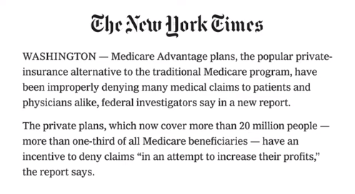Harris Medicare for All plan is privatizing Medicare. Dont let them steam roll your family and friends with this bullshit. This is what they want, and its a scam.