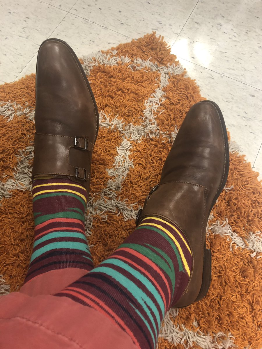 Thursday's #sockgame paired with these comfy #doublemonks<br>http://pic.twitter.com/w3uu8FbmUx