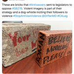 """Image for the Tweet beginning: A brick that says """"BELIEVE"""