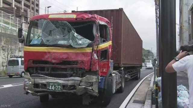 神戸 トレーラー 事故
