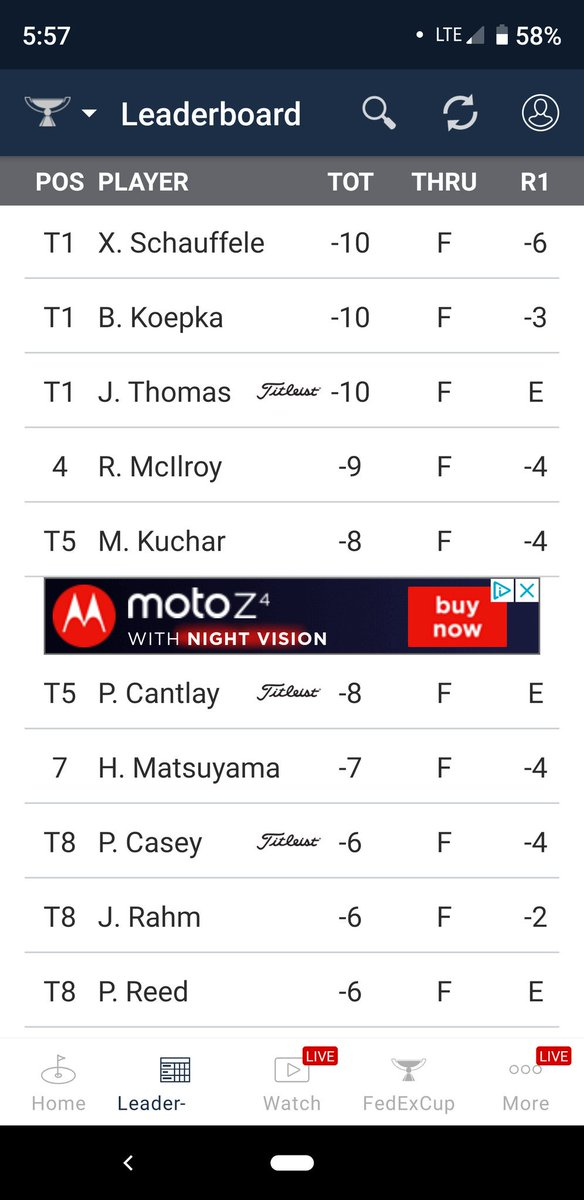 This new Tour Championship is ridiculous! Why would the PGA Tour think having a format that creates a leaderboard of Xander JT Brooks and Rory is anything fans would want to see? So unfair... https://t.co/uZtH20U2T1