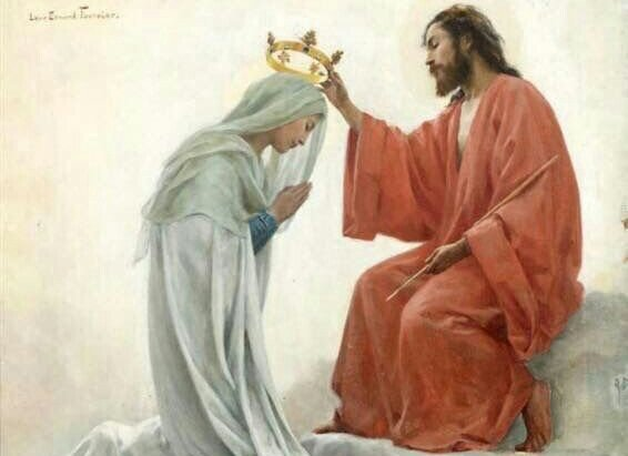 Queen of Heaven,      pray for us! Queen of Peace,      pray for us! Our Dear Loving Mother,      pray for us!  O Jesus, enthroned in Heaven, have mercy on us, Lord have mercy!  #HailHolyQueen 👑 #QueenshipOfMary