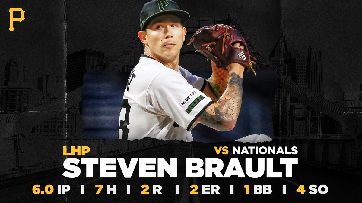 Brault's 'resolve' a bright spot in Bucs rotation