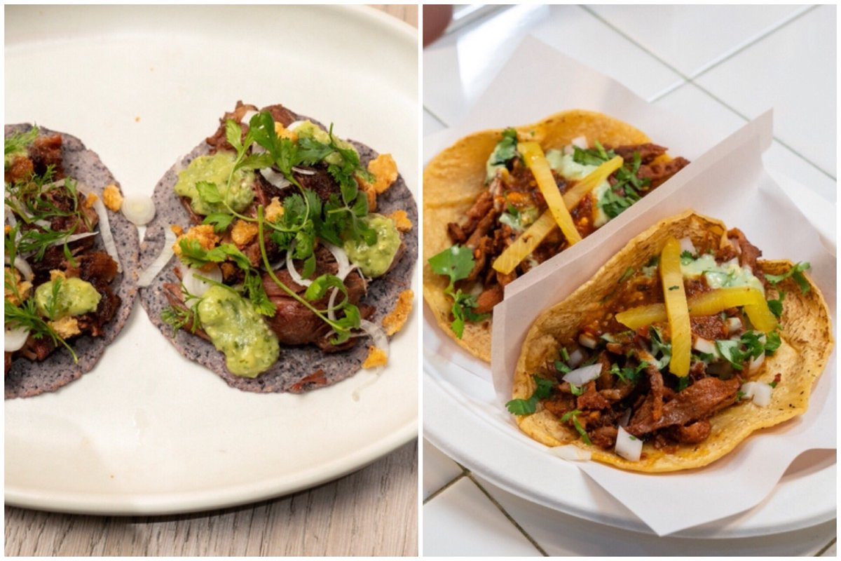 Here we go #TheFlayList ... which tacos would you order first? Left or right? @FoodNetwork @abc7sophie<br>http://pic.twitter.com/St3vjIRpZp