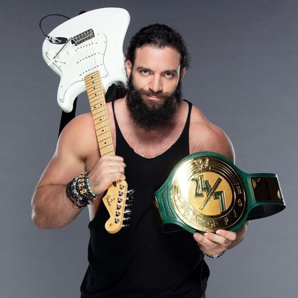 Silence your mobile phone, hold your applause, and appreciate your #247Champion, @IAmEliasWWE<br>http://pic.twitter.com/r2Epcepw7i