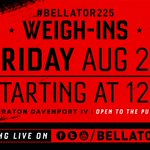 Image for the Tweet beginning: Less than 24 hours! Weigh-ins