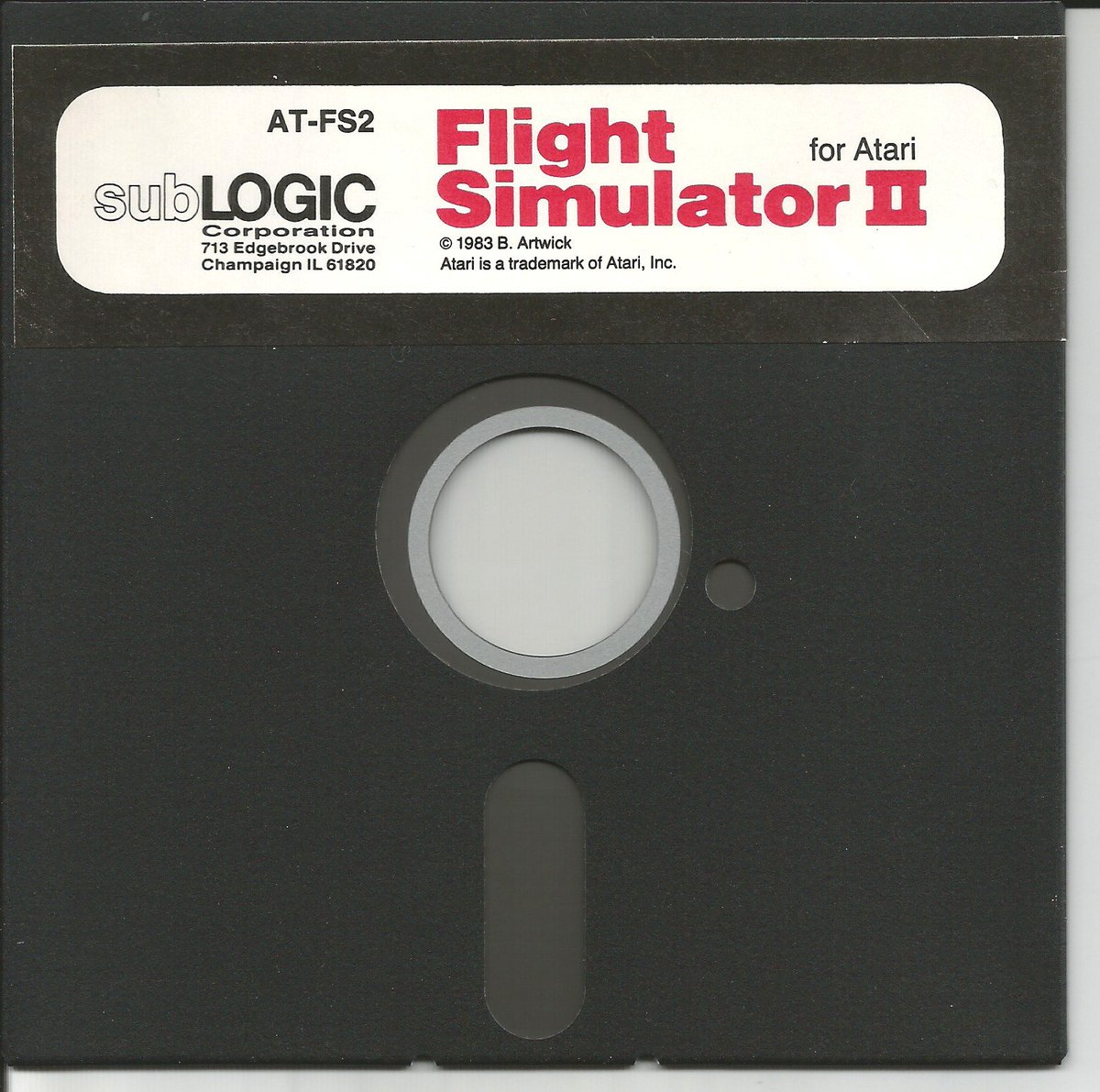 #Atari 8-bit #SubLogic Flight Simulator 2 #Kryofluxed. https://t.co/NjFmOy05Qv