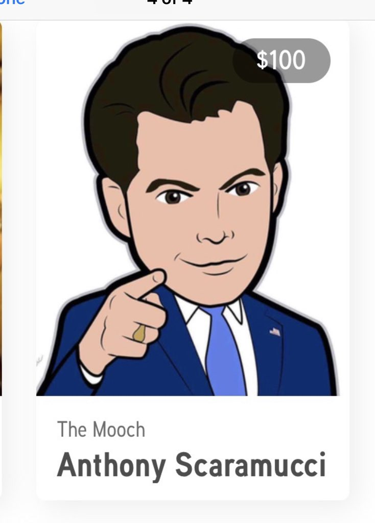 For 100 bucks you can get the mooch which is exciting because it's about 90 bucks more than he's worth.