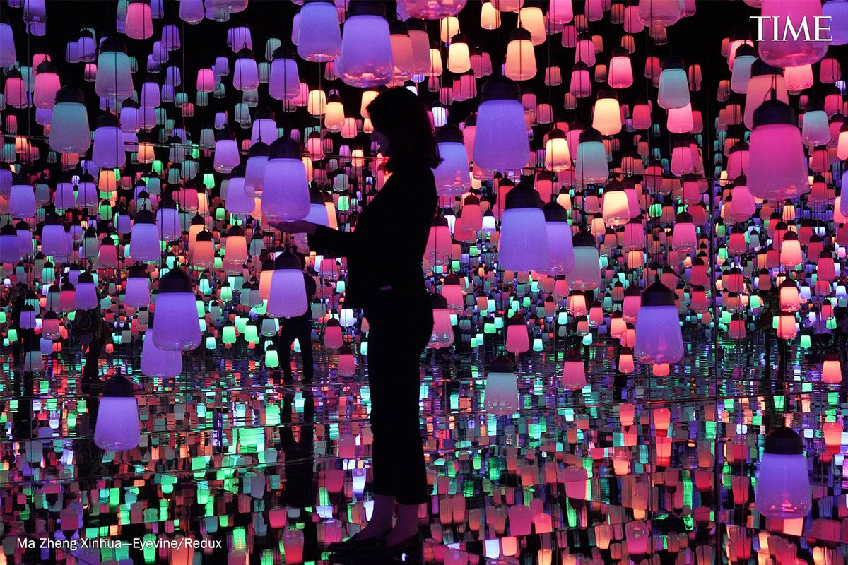 The world's first museum solely dedicated to digital art celebrated its one millionth visitor five months after opening last year. See why the Mori Building Digital Art Museum is one of the World's Greatest Places of 2019 http://mag.time.com/ad0Heah