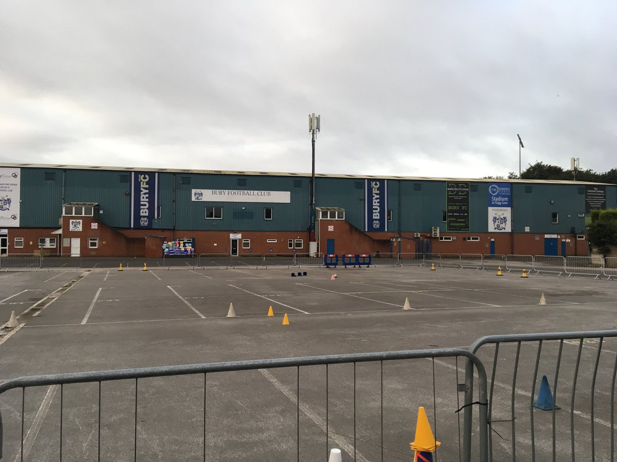 Bury FC, one of the oldest clubs in the league, is on the brink of extinction. It must prove it has a viable plan for the future - or find a new owner - by midnight tonight.  #BuryFC @GMB<br>http://pic.twitter.com/jyNkUuGSsW