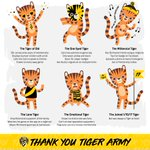 Image for the Tweet beginning: Which Tiger fan are you?