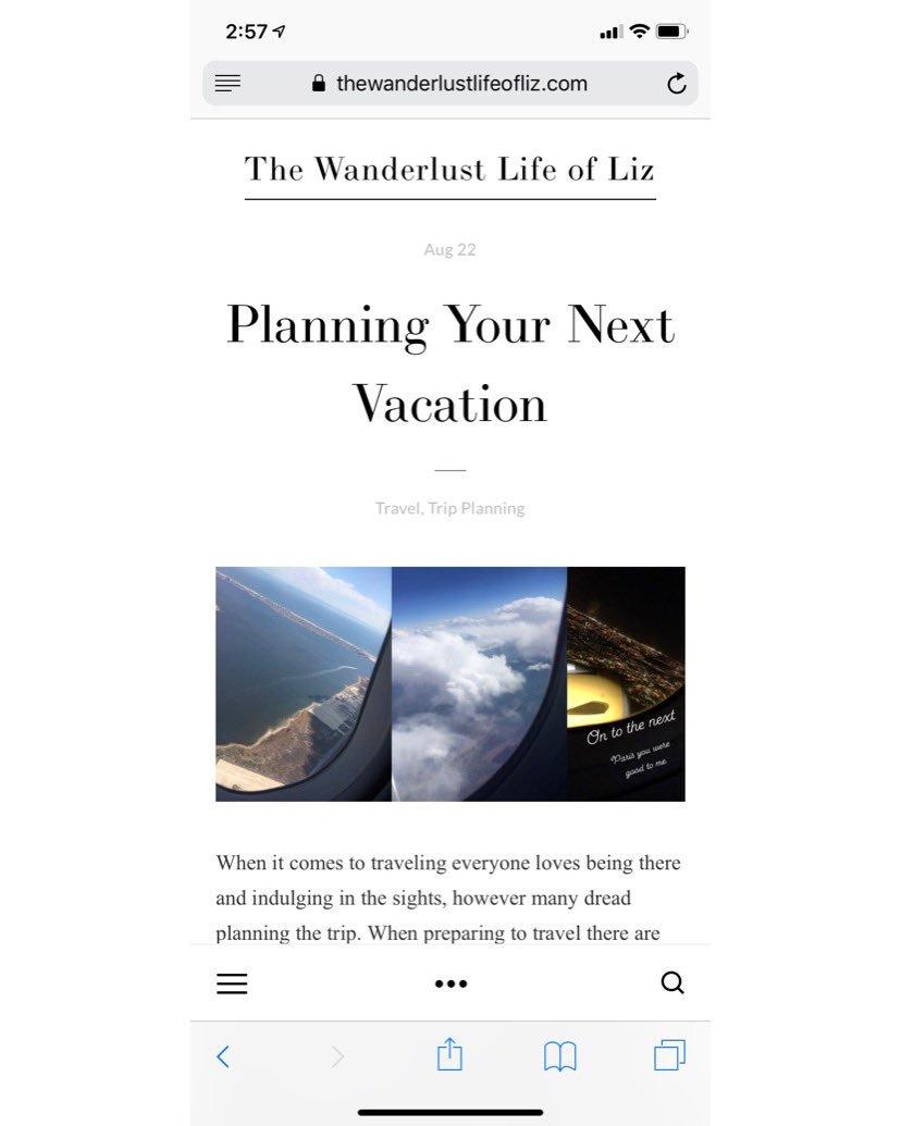 http://TheWanderlustLifeOfLiz.com #RT #retweet #travelblog #travelblogger #Wanderlust #paradise #traveling #traveler #nomad #airplanes #Paris #Italy #Amsterdam #Vegas #Cancun #Miami