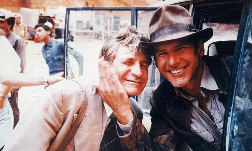 RT @Thisisnotporn: Bronco McLoughlin and Harrison Ford on the set of Indiana Jones and the Last Crusade. https://t.co/t9TnThbYJc