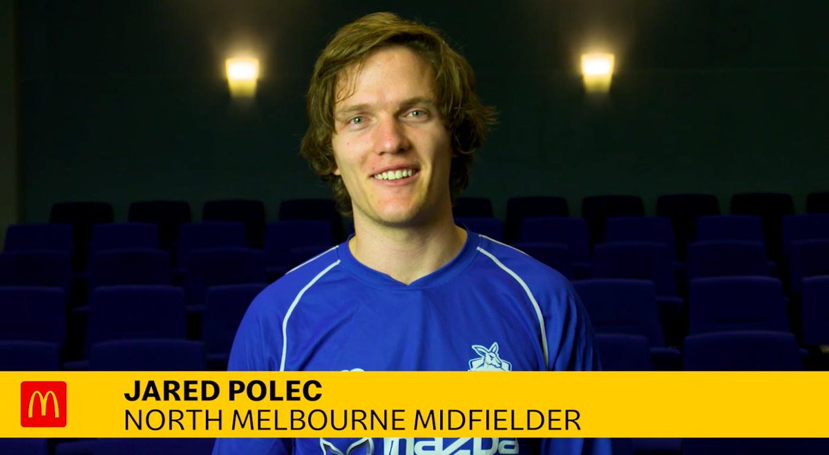 Image for the Tweet beginning: Jared Polec answers your questions