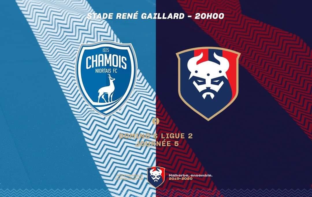 [5e journée de L2] Chamois Niortais FC 1-1 SM Caen ECopBBXUEAEWiG5