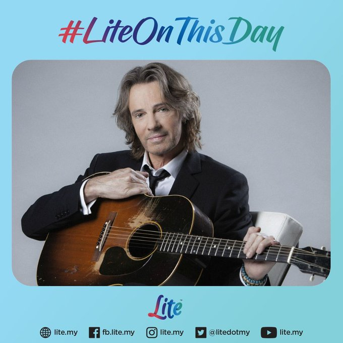 Happy birthday Rick Springfield! He reached the top of the US Singles charts in 1981 with \Jessie\s Girl\.