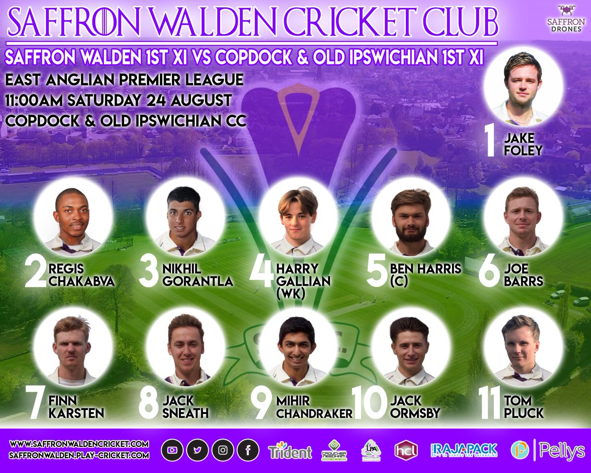 Saffron Walden 1st XI are on the road again this weekend playing away at Copdock & Old Ipswichian CC. C'mon the Crocus! #crocus #saffronwalden #cricket #morethanjustagame<br>http://pic.twitter.com/ec8RGuus0d