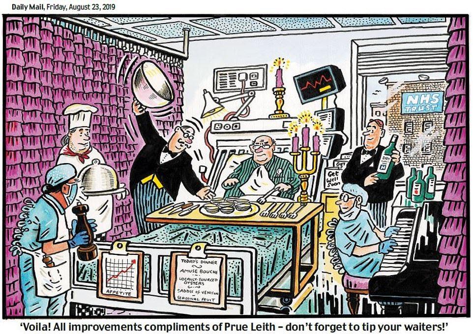 "Political Cartoon on Twitter: ""PAUL THOMAS on Prue Leith and Boris ..."