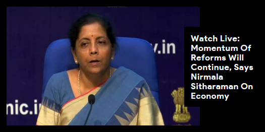Lead story now on http://ndtv.com:Finance Minister Nirmala Sitharaman addresses press conference on the state of the Indian economy amid a slowdown. http://ndtv.com/india-news/nirmala-sitharaman-press-conference-live-updates-finance-minister-speaks-on-state-of-democracy-2089480…#NDTVLeadStory