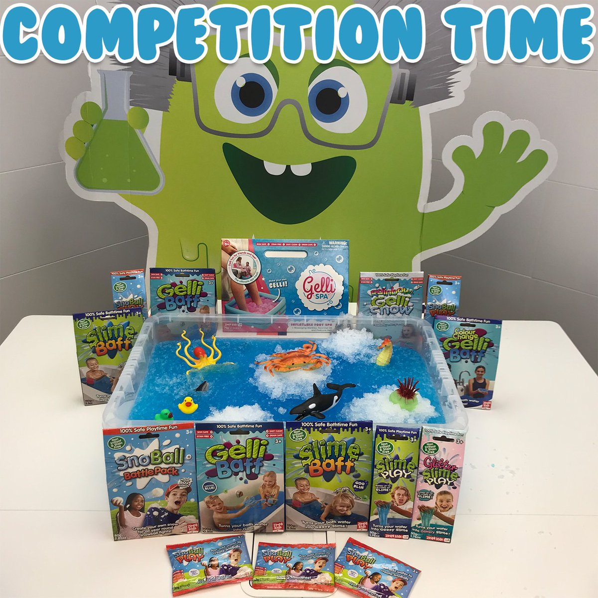 COMPETITION TIME! #Win this snow themed mega bundle! To enter, #follow us, like and tag 3 friends! #competition #giveaway #share #repost #zimplikids #gellibaff #slimebaff #zimplikids #sensoryplay #messyplay #finemotorskills #snoballbattlepack #gellisnow<br>http://pic.twitter.com/5EprtdBuj6