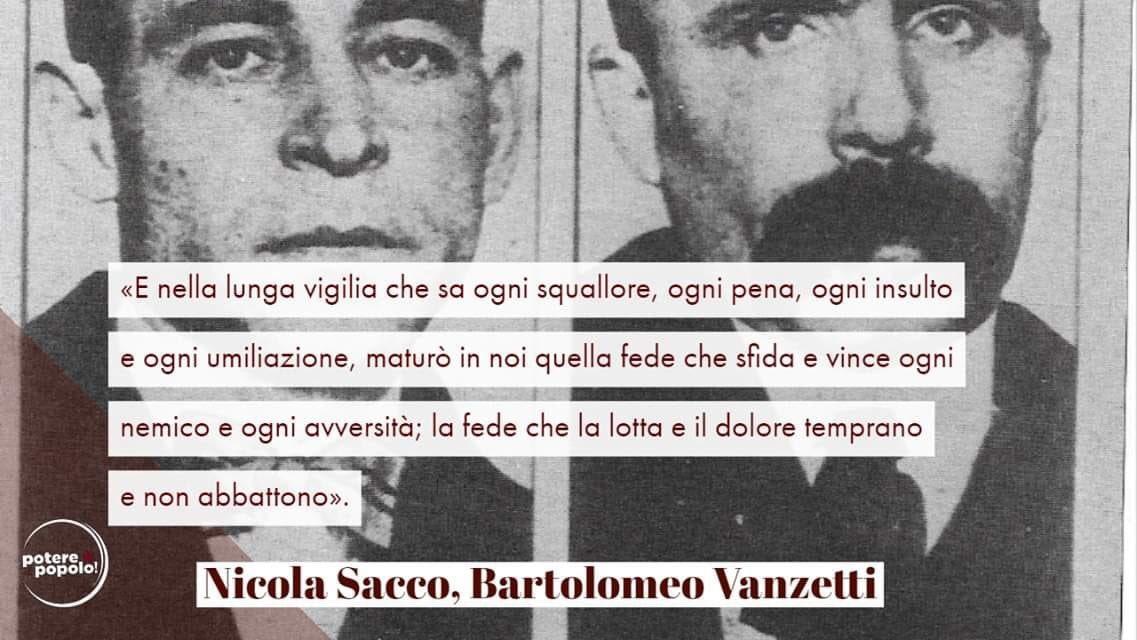 #SaccoeVanzetti