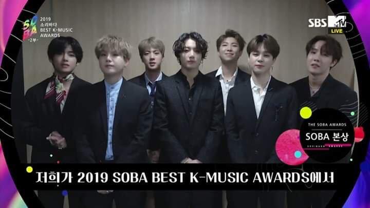 BTS mendapat tiga penghargaan di Soribada Best K-Music Awards 2019 hari kedua, Jumat (23/8/2019).