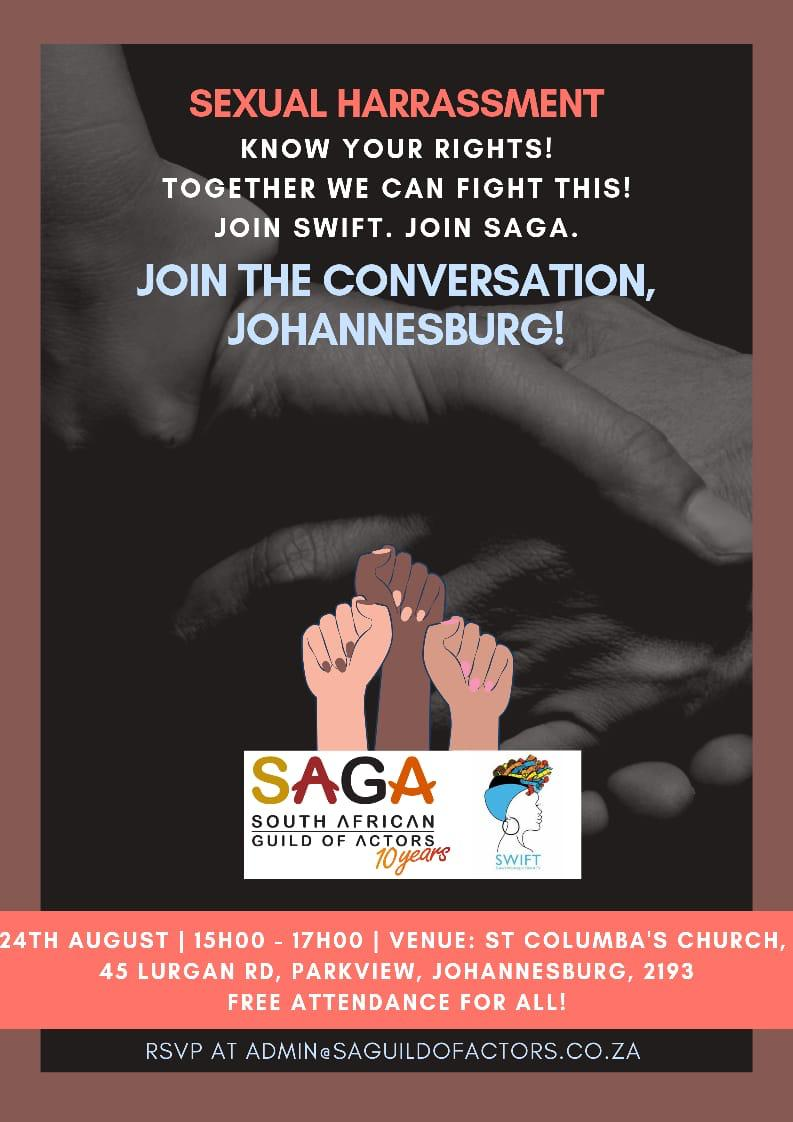 Please join us in conversation and get to know your rights. #ThatsNotOkay