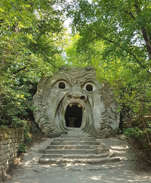 #BomarzoGarden #ogre #Bomarzo https://t.co/0VUW8pGUG3