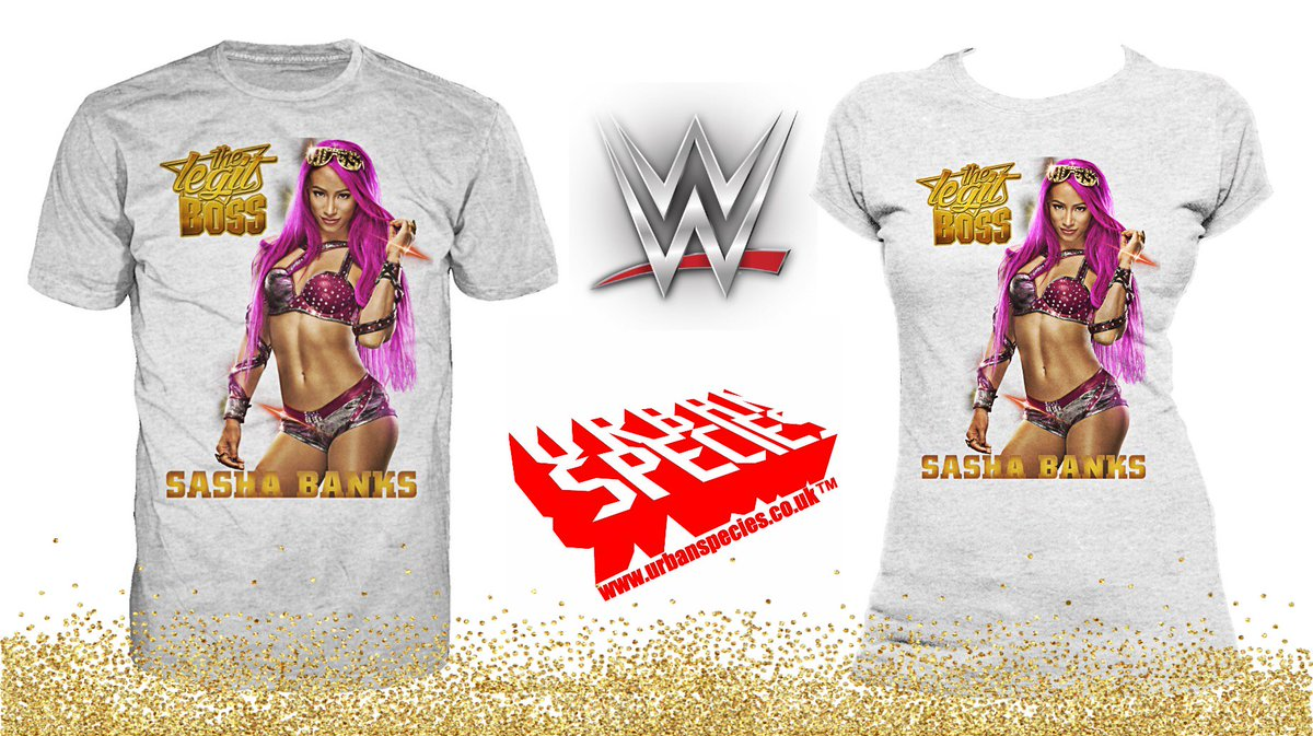 The Boss is BACK!Celebrate the #LegitBoss with this new @SashaBanksWWE t-shirt from @UrbanSpecies: https://buff.ly/2TgxGKX #Ad