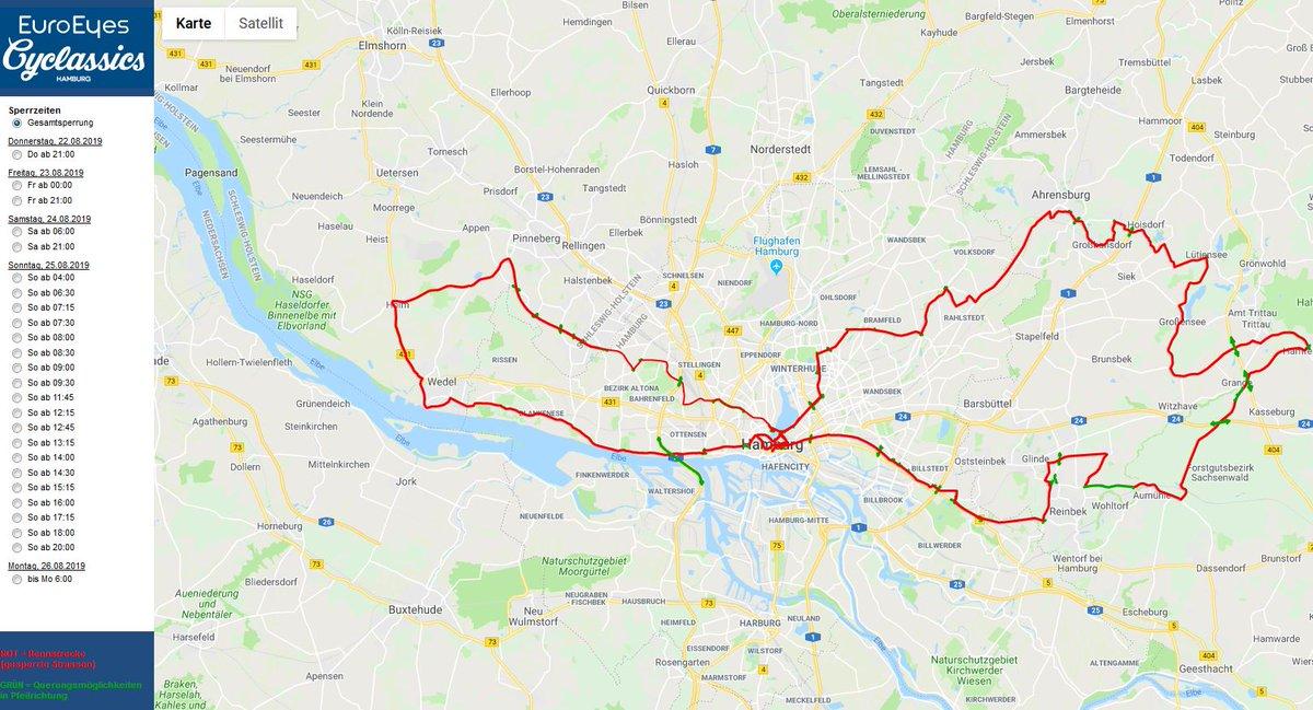 Polizei Hamburg On Twitter Cyclassics Radrennen In Hamburg Und