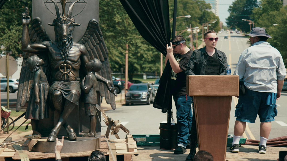 Everything you know about Satanism is wrong. At least thats what a new documentary about the @satanic_temple_ hopes to prove. bbc.co.uk/news/entertain…