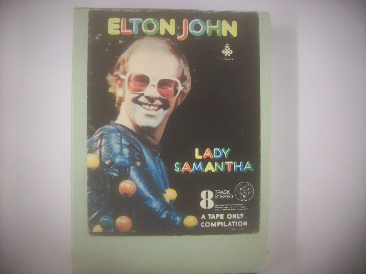 Good morning!   Elton John – Lady Samantha  (UK DJM Records 8-Track Cartridge, Album, Compilation, Stereo 1974)   #seventies #pop #vocal #TheCartridgeFamily #70smusic     https://t.co/R31qzHaD1L https://t.co/26L3lO1ou1