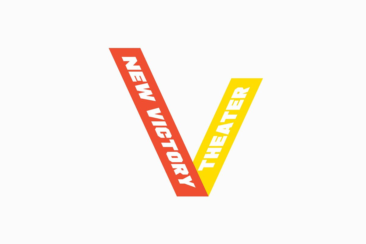 Today • New Visual Identity for New Victory Theatre by @pentagram • bit.ly/bpo-victory •