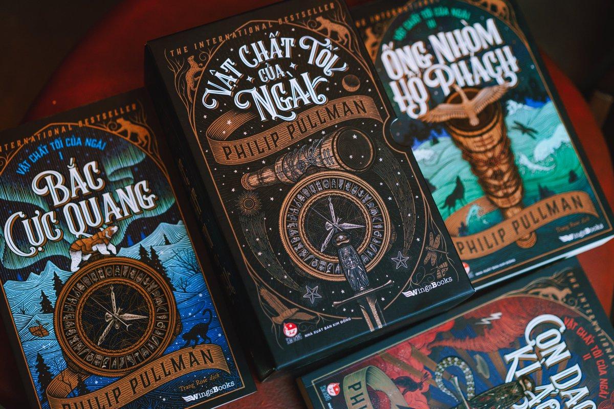 His Dark Materials - Vietnamese edition by @PhilipPullman   #HisDarkMaterials #PhilipPullman https://t.co/vVj0nfKhVR